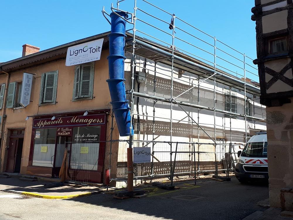 Rénovation de toiture à Pont-de-Veyle